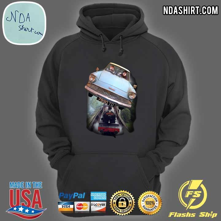 Harry Potter and Ron Car Flying 7990 TD Shirt hoodie