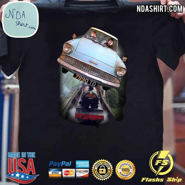Harry Potter and Ron Car Flying 7990 TD Shirt